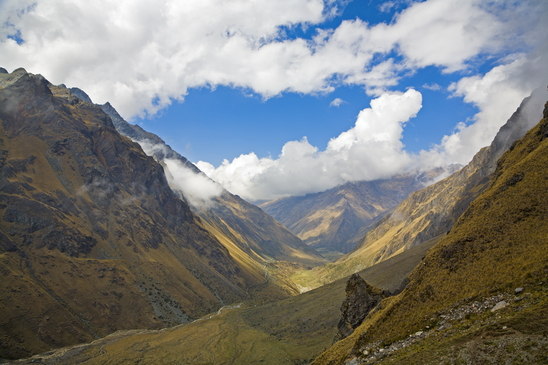 Beautiful Peruvian Andes Valley